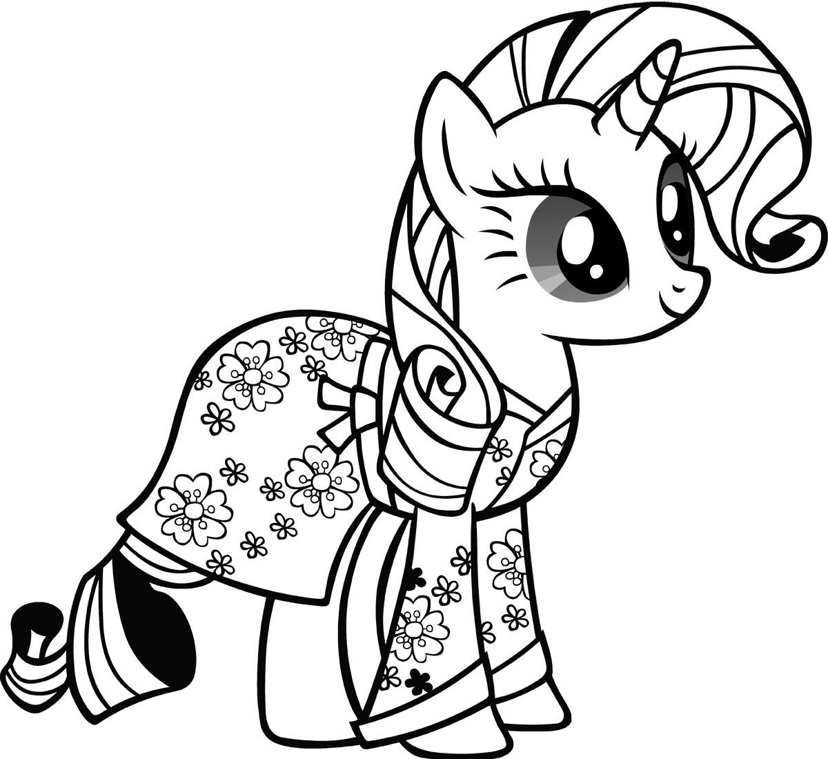 Print My Little Pony Coloring Pictures