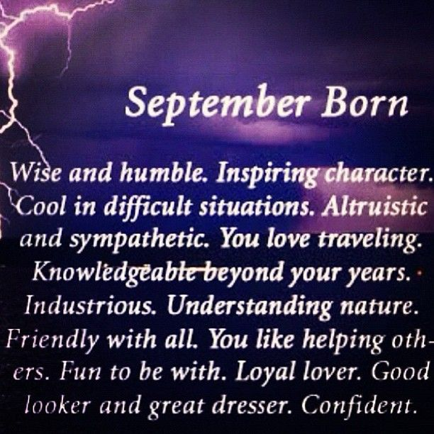 September Baby Personality, Facts, Characteristics, Quotes