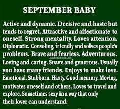 September Baby Quotes