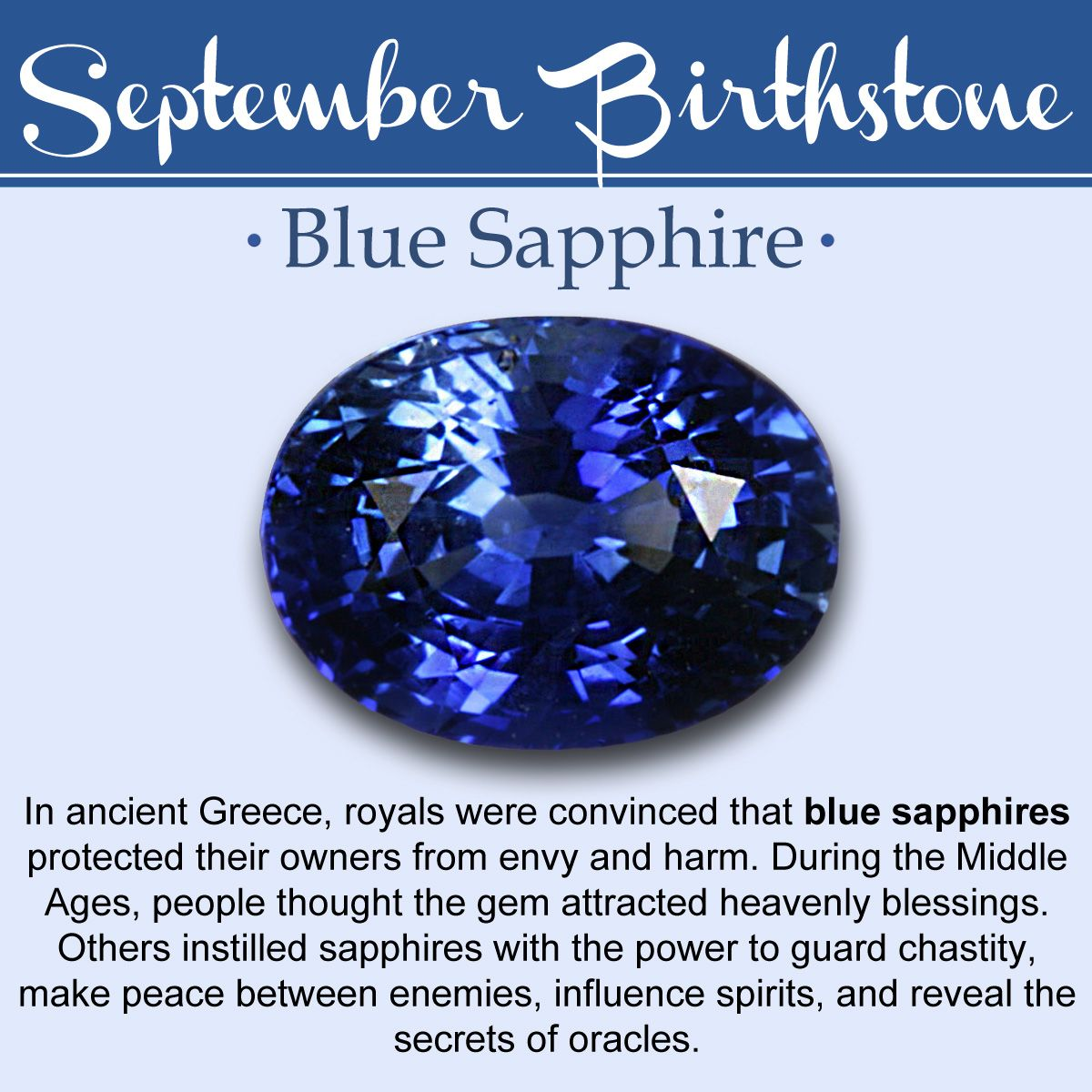 September Birthstone Meanings