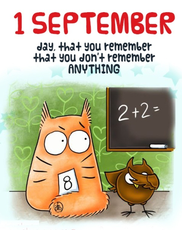 Welcome September Funny Quotes