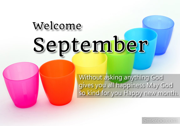 Welcome September Quotes Images Wishes