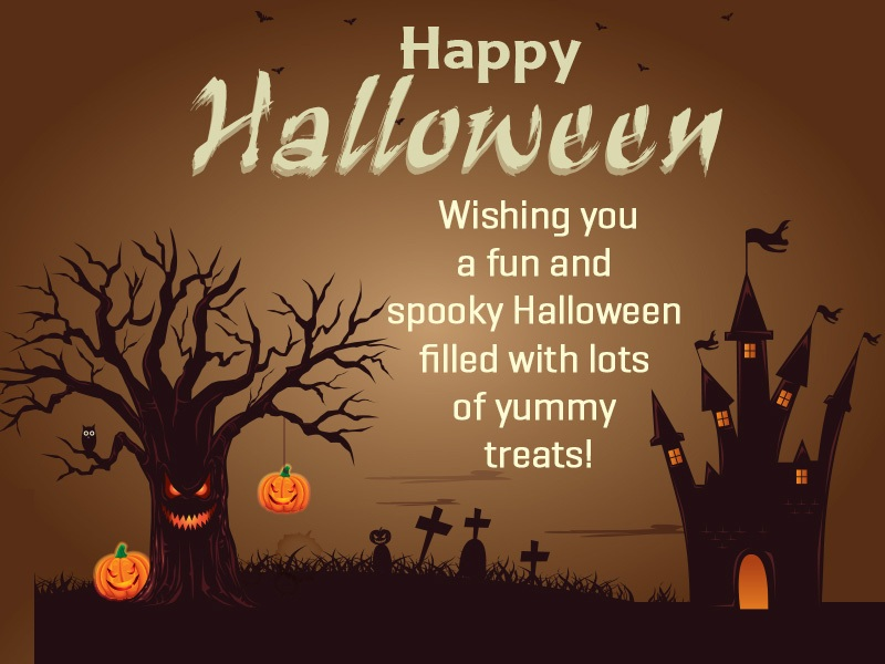 Creepy Halloween Wishes With Pictures