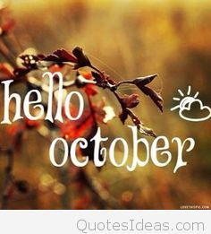 Free Welcome October Pictures