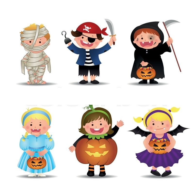 Halloween Cartoon Character Animation