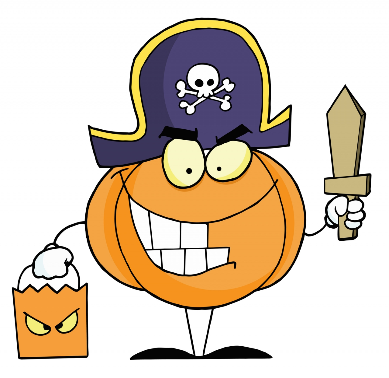 Halloween Character Clipart For Wishes