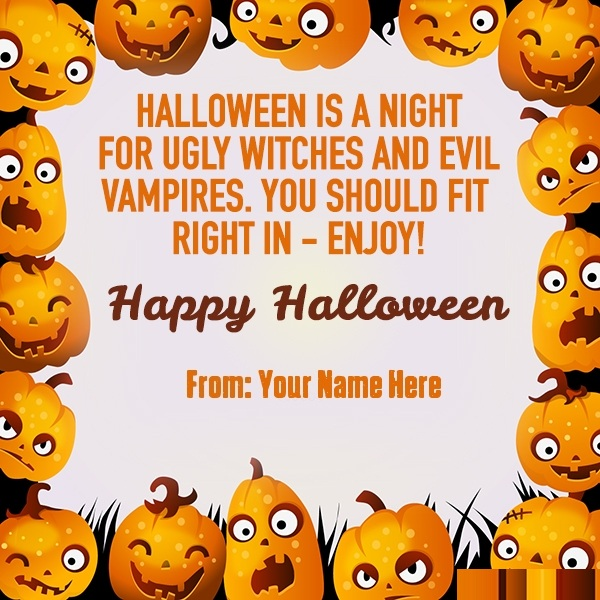 Halloween Greeting Wishes Download