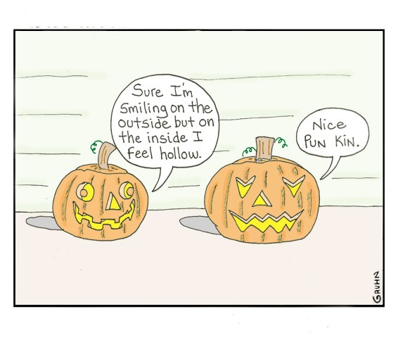 Halloween Spooky Puns Quotes