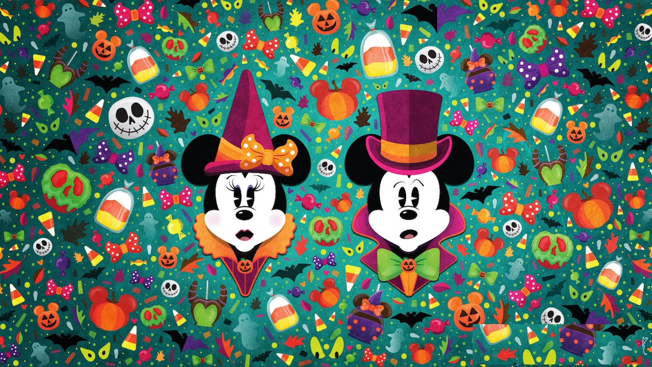 Halloween Wallpaper Disney Character