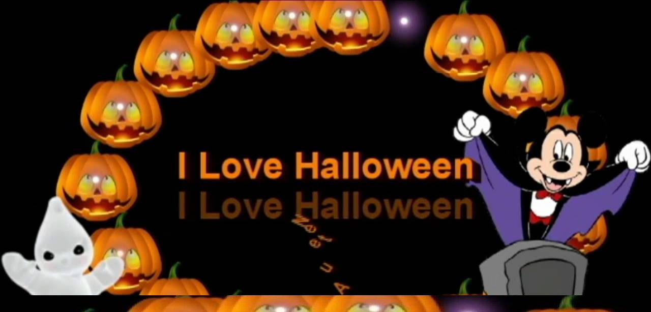 Halloween Wishes For Family Greeting