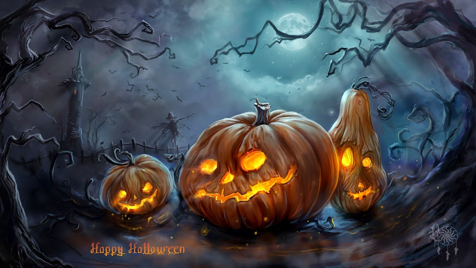 Halloween Wishes Hd Pictures
