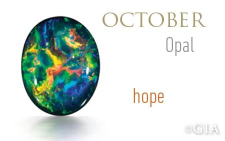 Month of October Birthstone