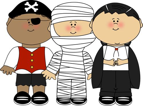 October Clipart For School