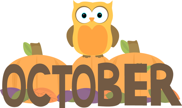 October Clipart