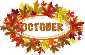 October Images Clipart