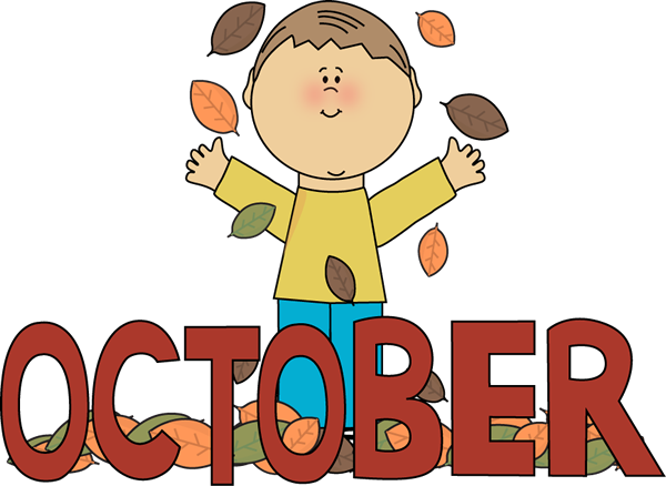 October Pictures Clipart