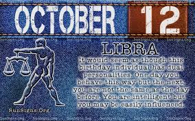 October Zodiac Sign Libra Birthday Horoscope