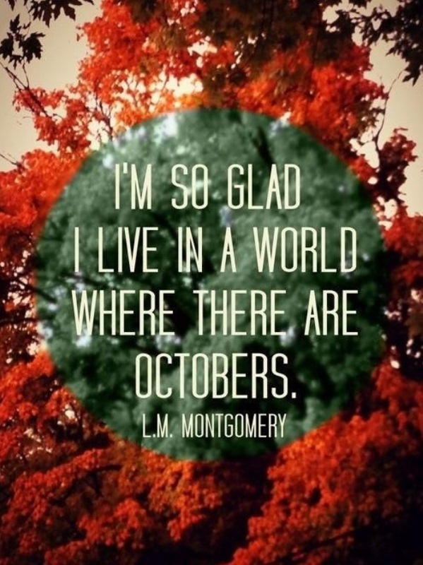 Quotes Welcome October