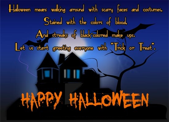 Short Halloween Wishes Images
