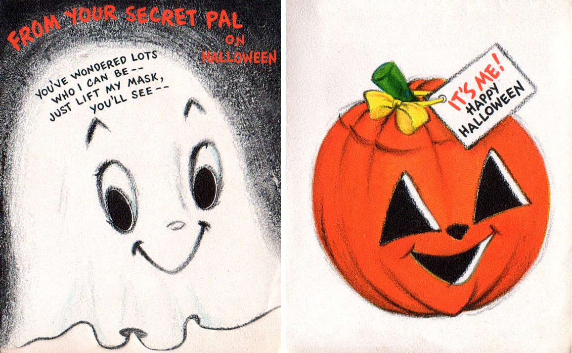 Vintage Halloween Cards Photo