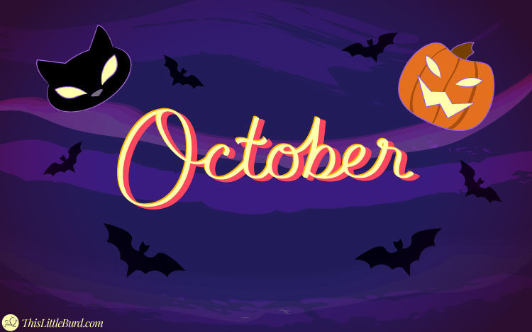Welcome October Halloween Wallpapers