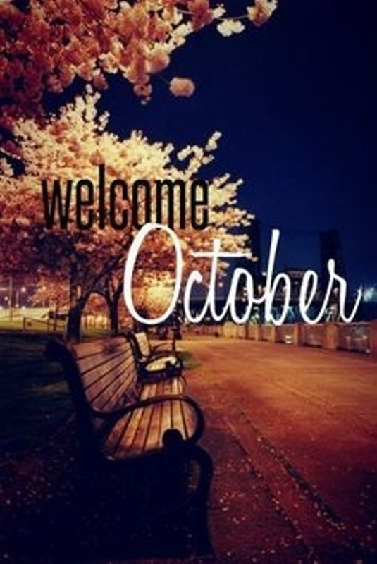 Welcome October Images, Quotes Free
