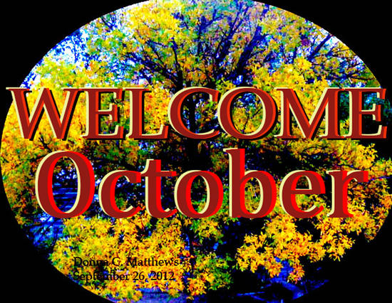 Welcome October Images Tumblr