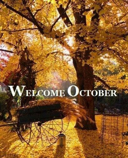 Welcome October Month Photos