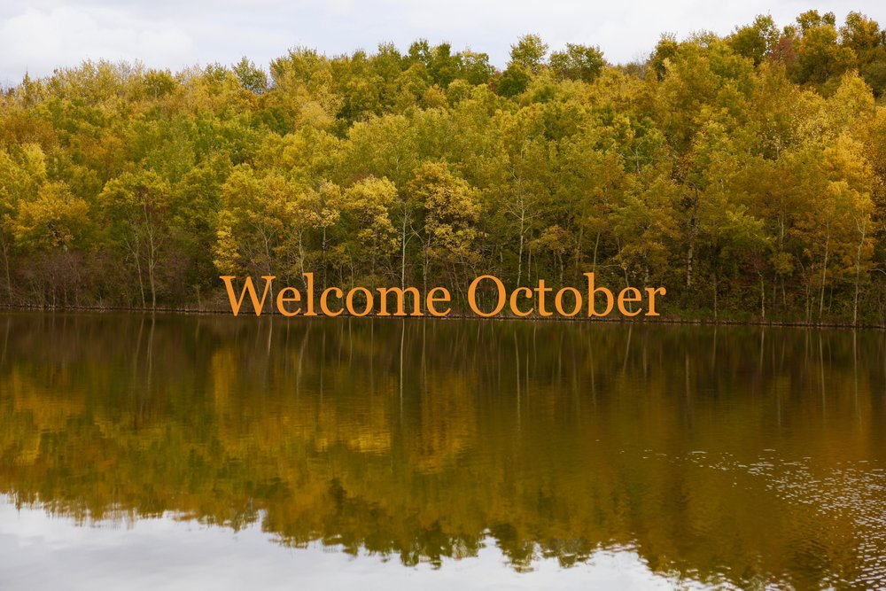 Welcome October Month Pictures