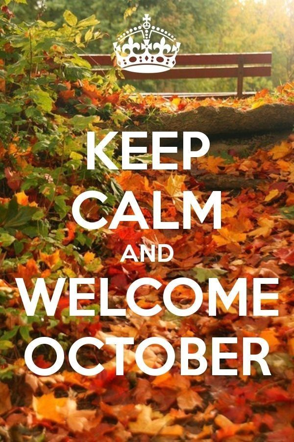 Welcome October Photos for Whatsapp