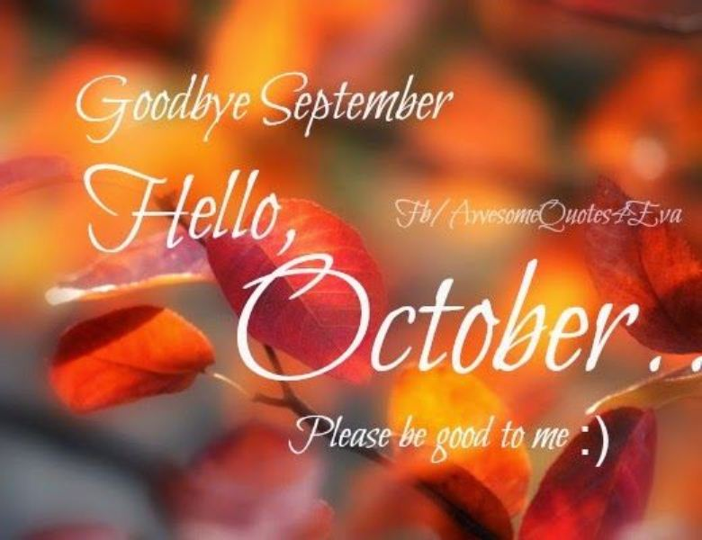 Welcome October Quotes Free
