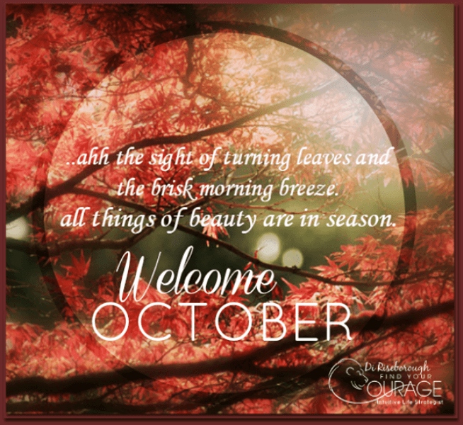 Welcome October Quotes Hello New Month