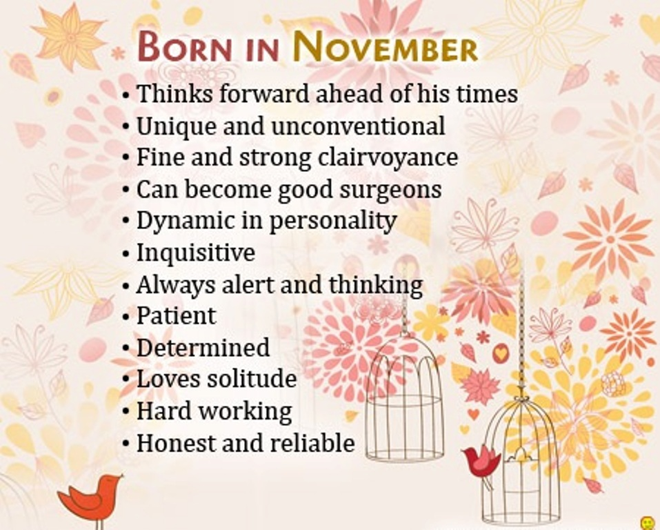 Born In November Images
