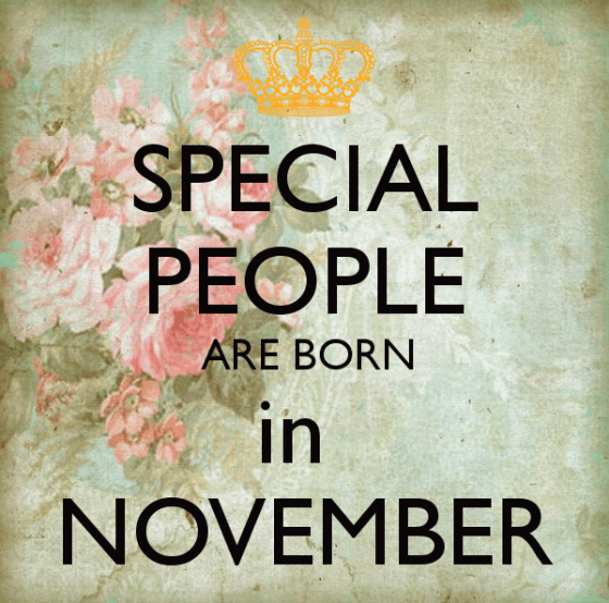 Happy November Birthday Images