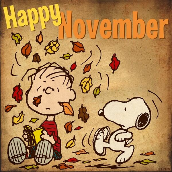 Happy November Pics