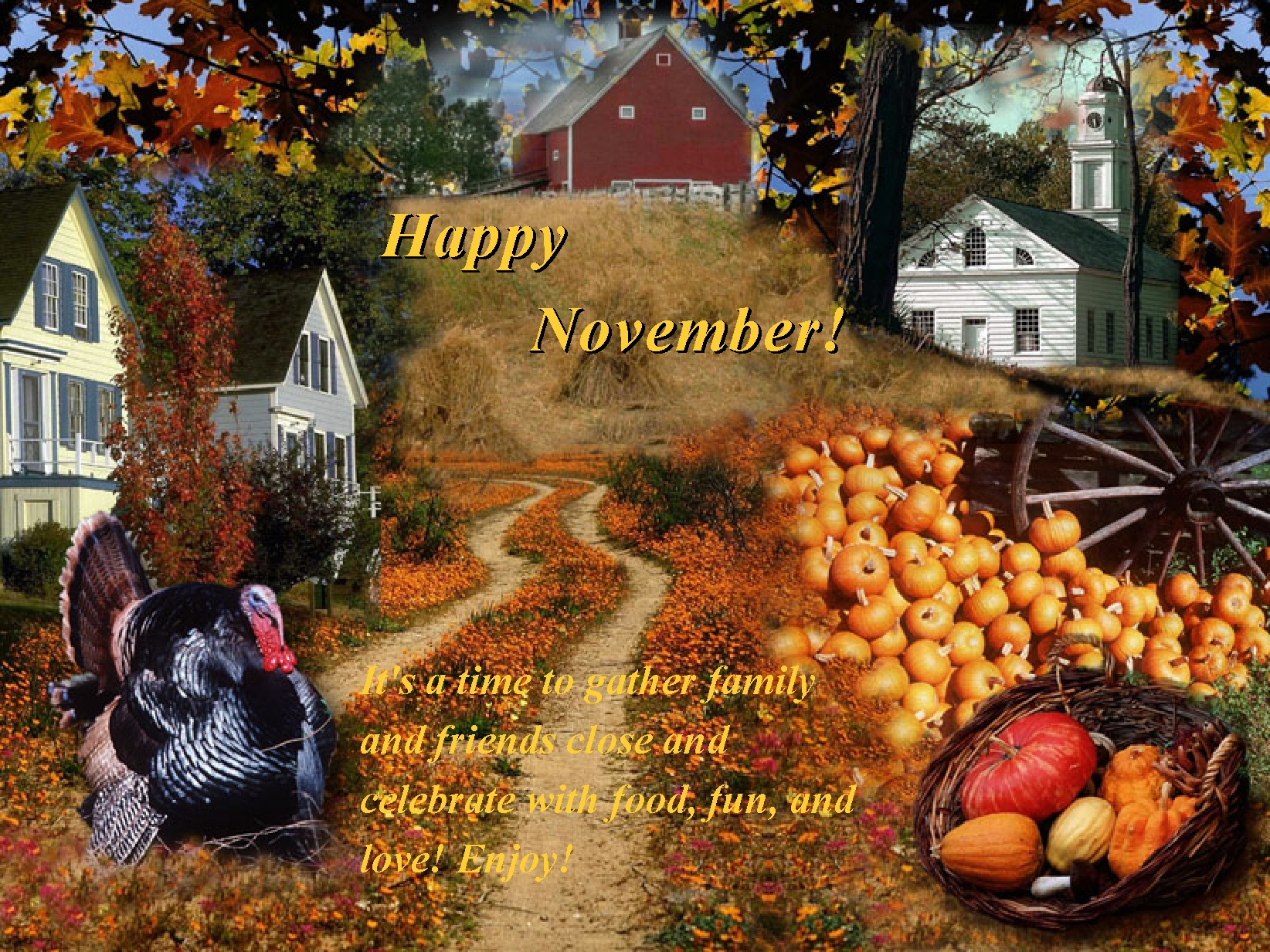 Happy November Quotes With Images