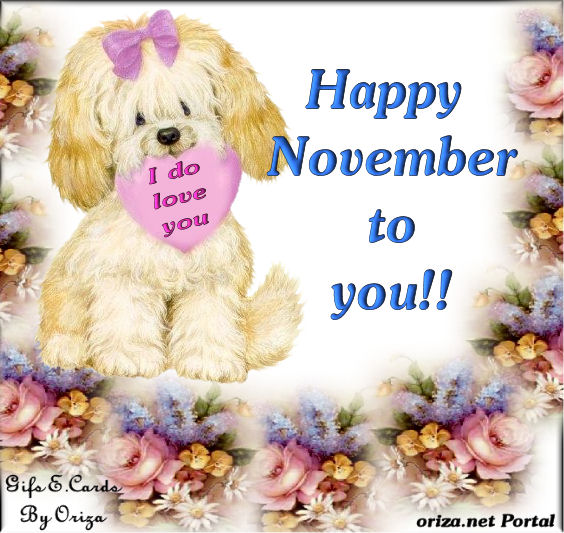 Happy November Quotes