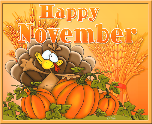 Happy November Thanksgiving Day