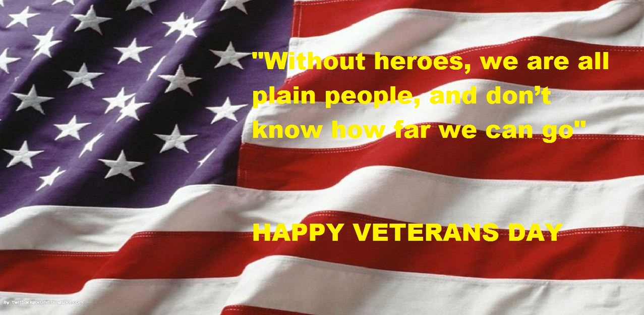 Happy Veterans Day Quotes Wallpaper