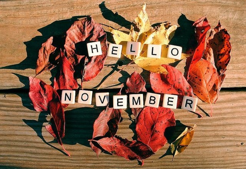 Hello November Background Images