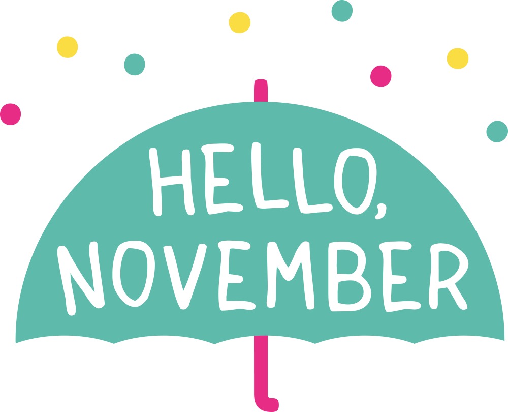 Hello November Clipart Images