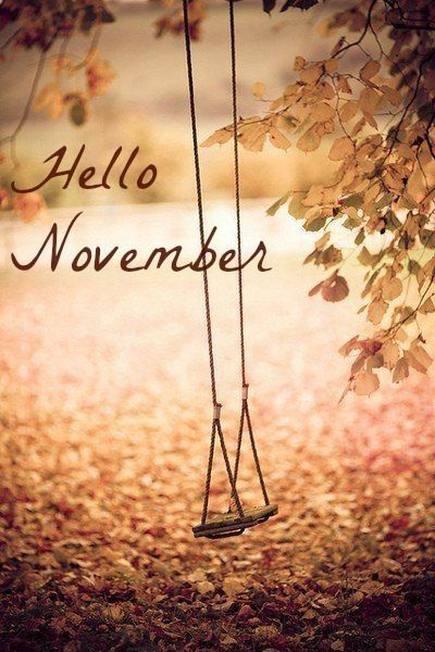 Hello November Images Download