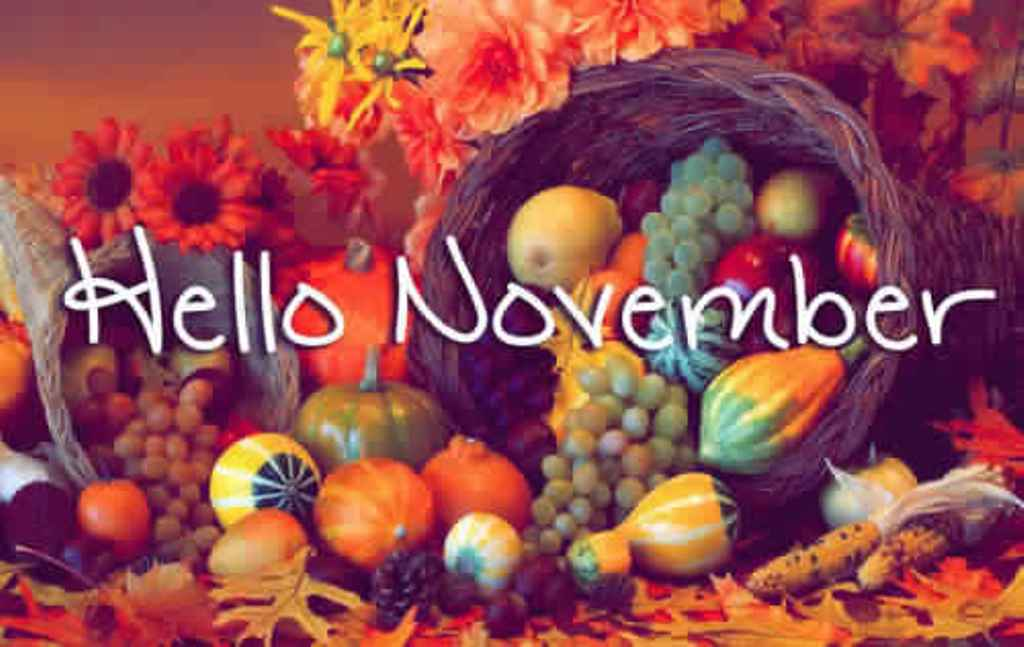 Hello November Images Free