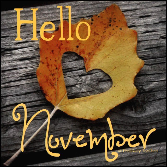 Hello November Images With Quotes