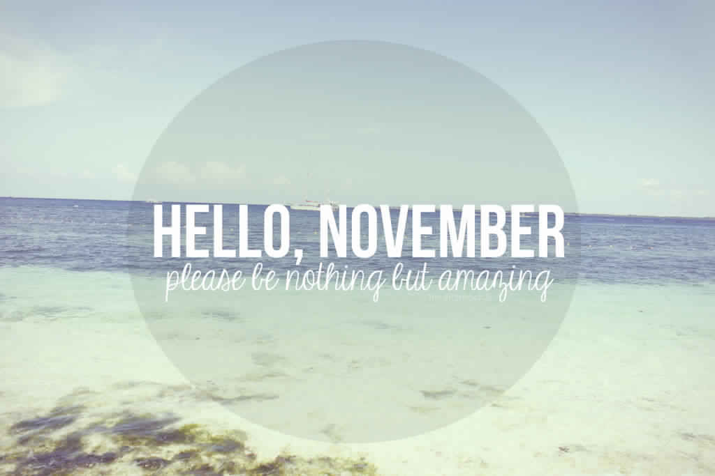 Hello November Month Quotes