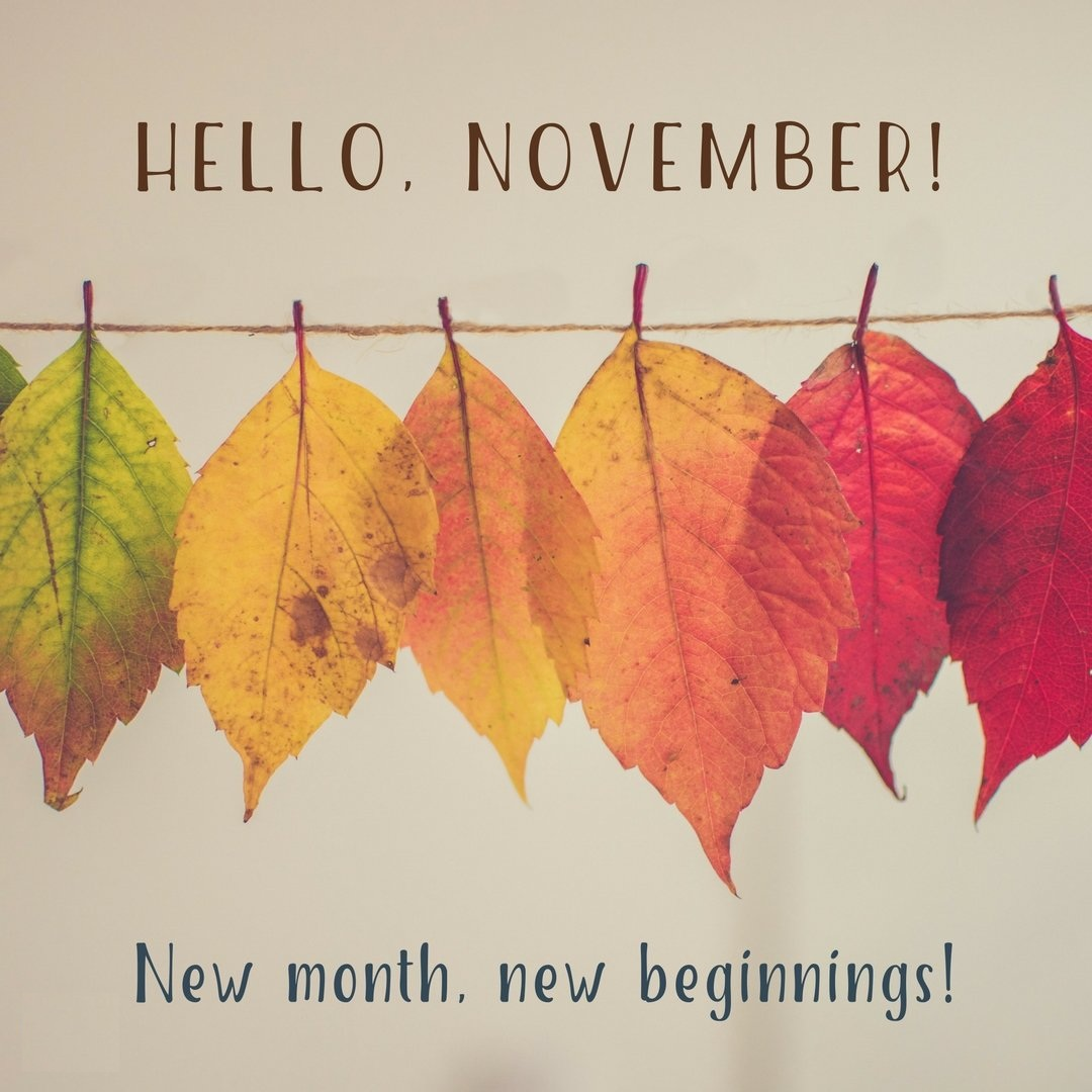 Hello November New Month Quotes