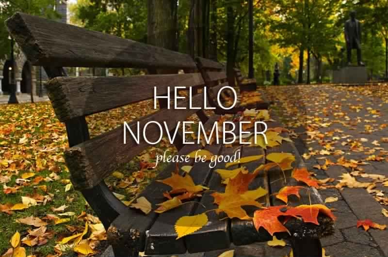 Hello November Quotes Please Be Awesome