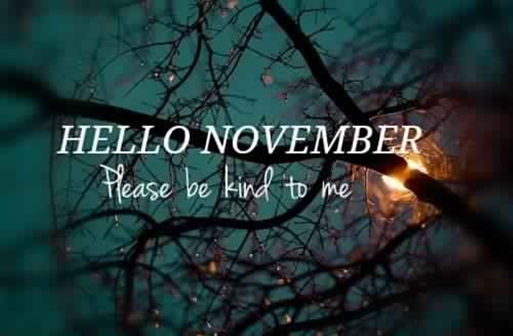 Hello November WhatsApp Image