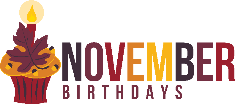 November Birthday Clipart Images