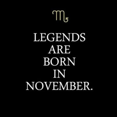 November Birthday Quotes Pictures